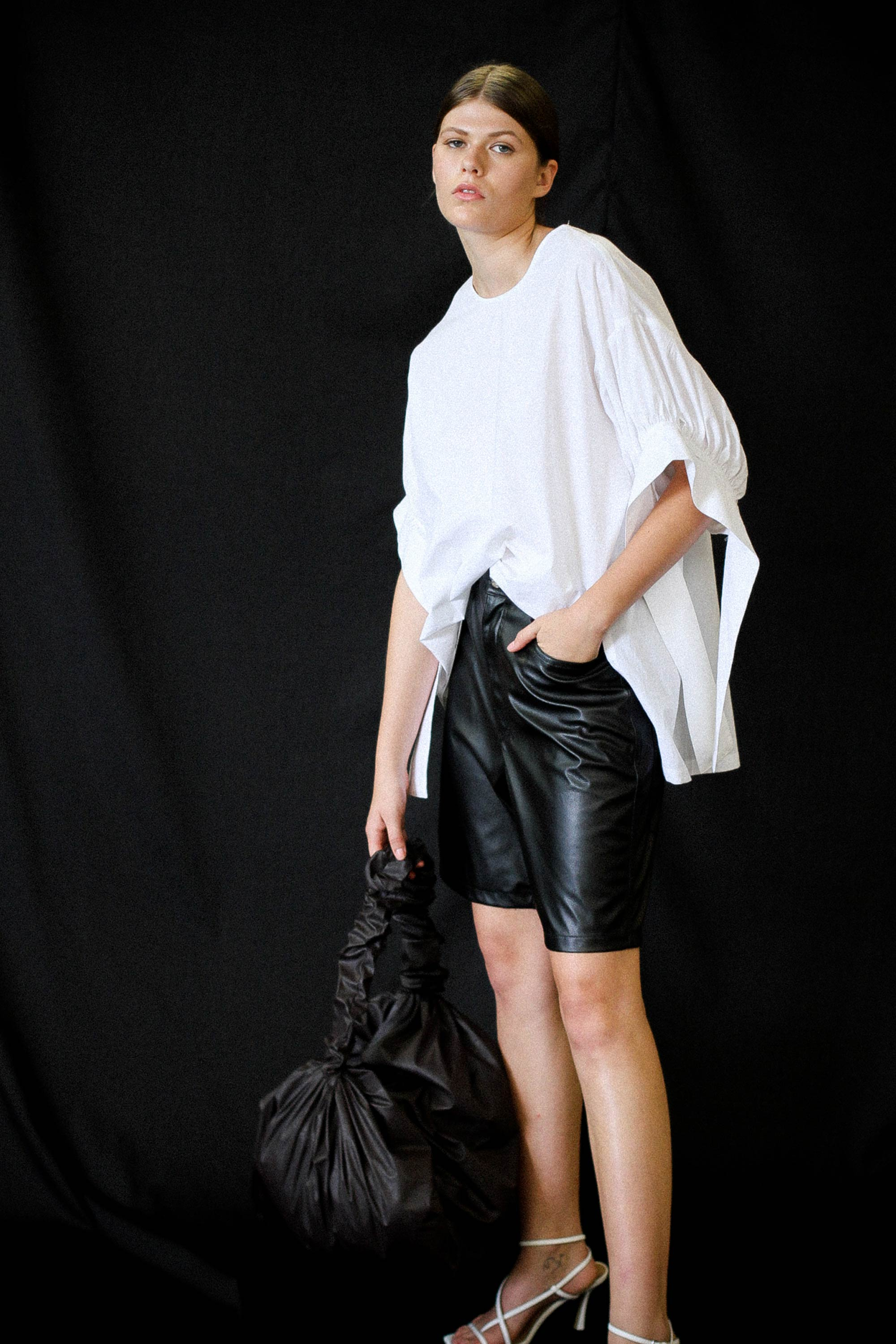 Julia Top Ricochet SS20 Collection NZ Sustainable Fashion Design