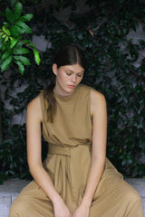 Ville Jumpsuit Sleeveless Ricochet SS20 Collection NZ Sustainable Fashion Design