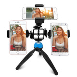 【SL001】Bomgogo Govivo G1 Multi-phone Tripod Mount for Live Webcast Streaming