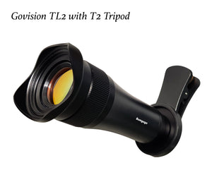 【AV077】Govision TL2 Telephoto Phone Lens Kit with T2 Tripod