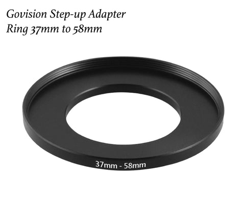 【AV015】Step-up Adapter Ring 37mm to 58mm