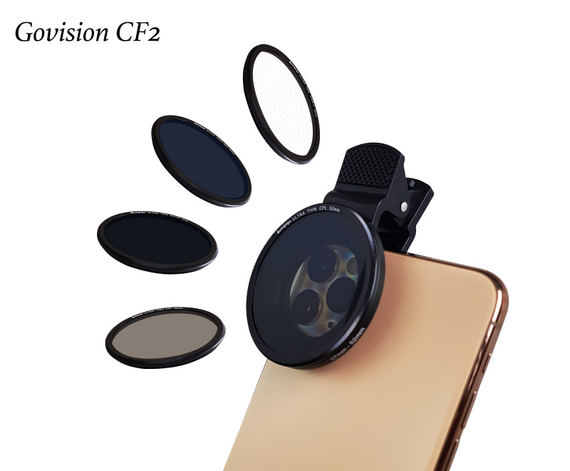 【AV062】Govision CF2 Filter Lens Kit 52mm (use with L4/L5/L6/L7)