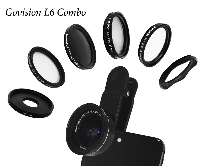【AV035】Govision L6 Combo Ultralight 8-in-1 HD Lens Kit