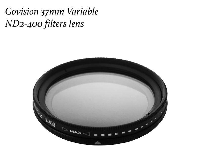【AV034】Bomgogo 37mm Variable ND2-400 Neutral Density Filter