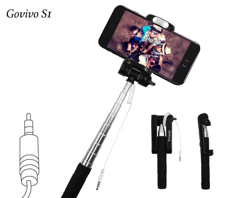 【SL004】Bomgogo Govivo S1 Wired Selfie Stick (Aux in)