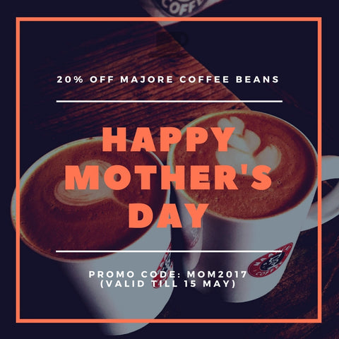 Mother's Day Coffee Bean Pormotion Code