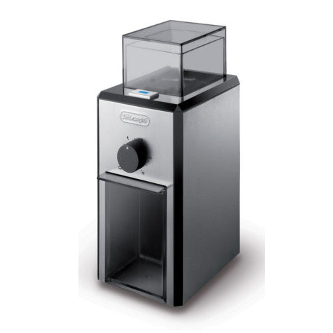 De'Longhi KG89 Stainless Steel Burr Coffee Grinder with Grind Selector and Quantity Control