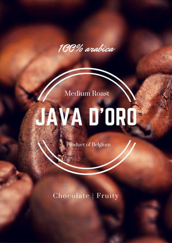 Coffee Beans - Java D'Oro