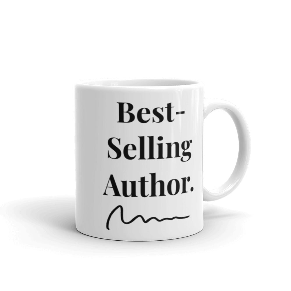 Best-Selling Author Aspiring Writer Book Lover Mug