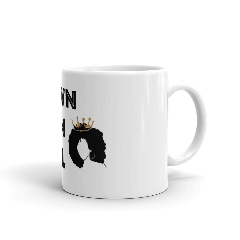 Brown Skin Girl Beyonce Lion King Coffee Mug