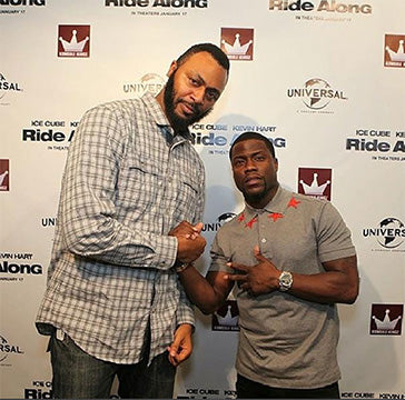 Kevin Hart and Cj