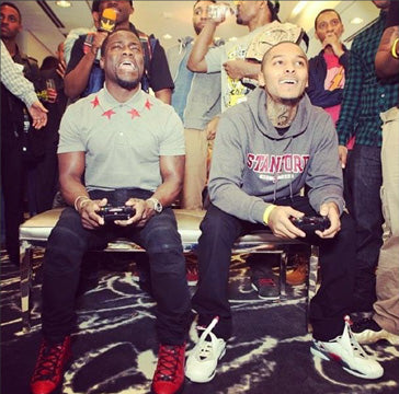 Kevin Hart playing 2K
