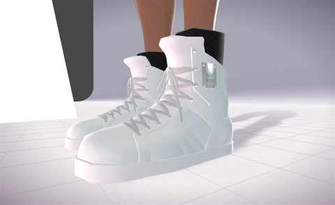 Konsole Kingz – Icey White KTR1s – High Top Shoe