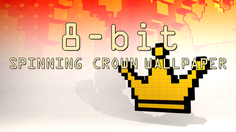 8-bit Crown Live Wallpaper by Konsole Kingz (Screensaver)
