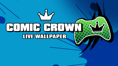 Comic Crowns 4K Live Wallpaper (Xbox Screensaver)
