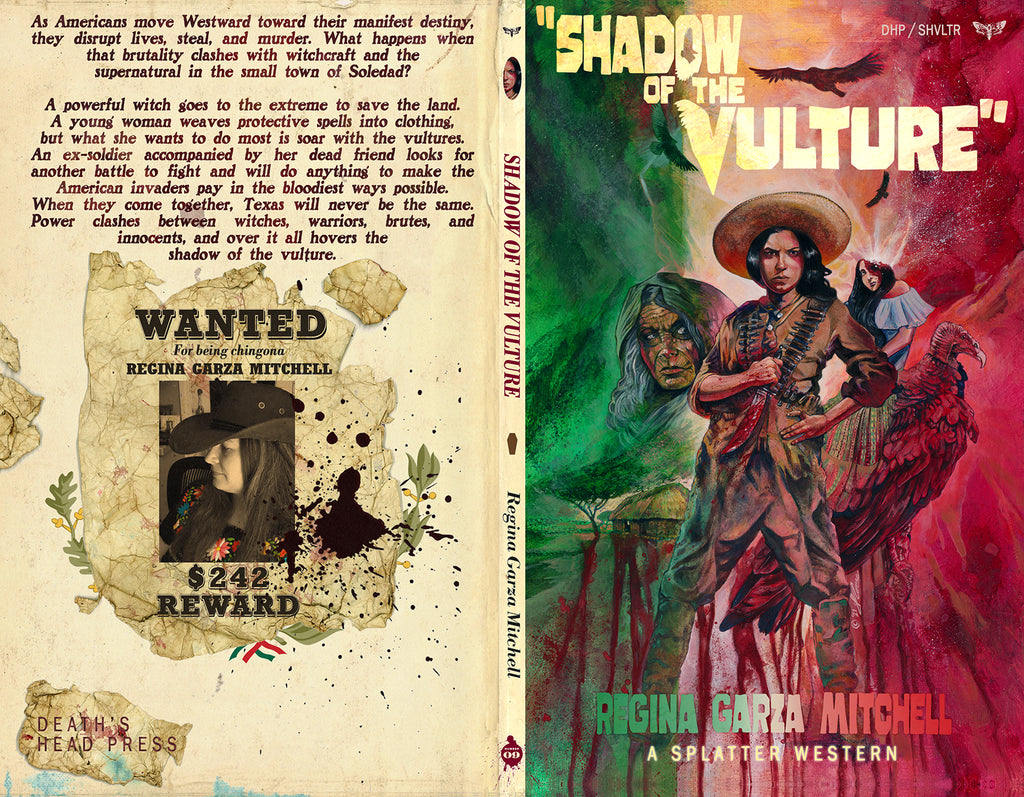 Cover Reveal: SHADOW OF THE VULTURE by Regina Garza Mitchell