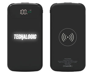 Techalogic 8000mAh Powerbank with Wireless Charging