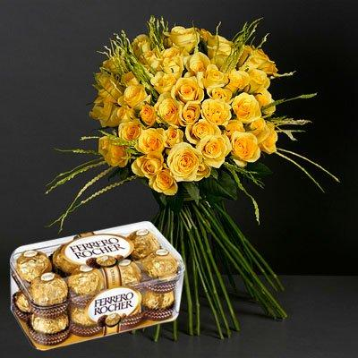 Friendly Sweet Surprise flowers CityFlowersIndia