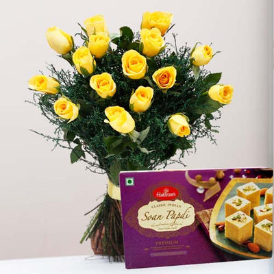 Spread Sweetness on thi Diwali flowers CityFlowersIndia