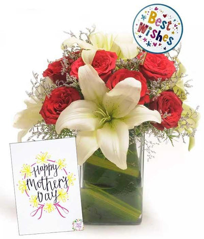 10 Blissfull Wishes - Mothers Day flowers CityFlowersIndia