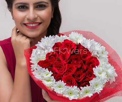 APPEALING LOVE flowers CityFlowersIndia