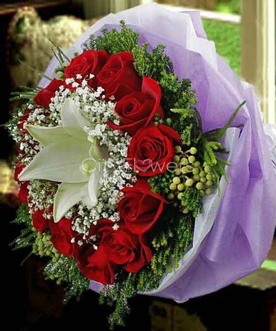 MARVELOUS BOUQUET flowers CityFlowersIndia
