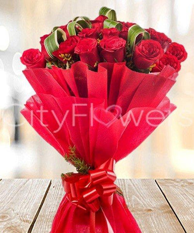 ROSES FOR THE LADY flowers CityFlowersIndia