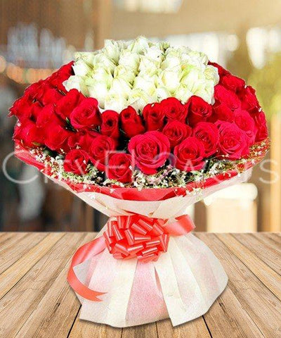 ADORABLE BOUNTIFUL BOUQUET flowers CityFlowersIndia