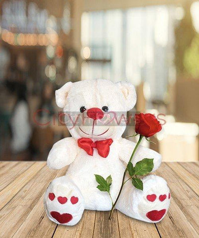 TEDDY - 1 Feet flowers CityFlowersIndia