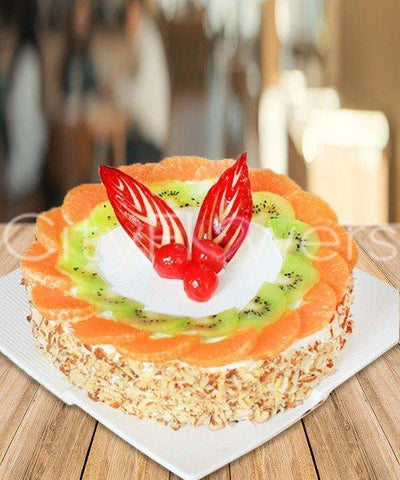 FRUIT CAKE DELIGHT flowers CityFlowersIndia