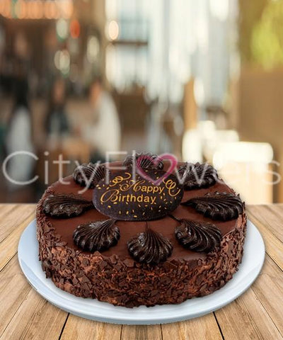 CHOCOLATE CAKE DELIGHT flowers CityFlowersIndia