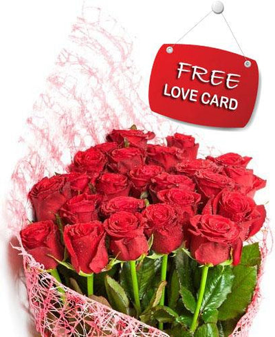 Valentine Magic flowers CityFlowersIndia