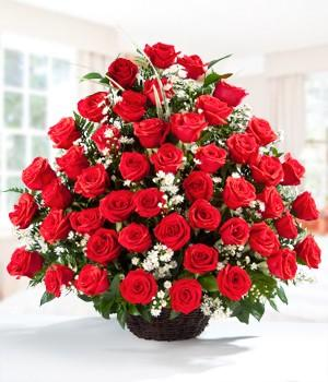 Together & Forever _Valentine flowers CityFlowersIndia