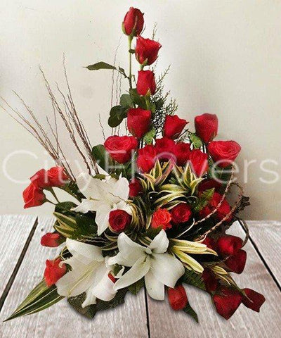FLOWERS OF MY HEART flowers CityFlowersIndia