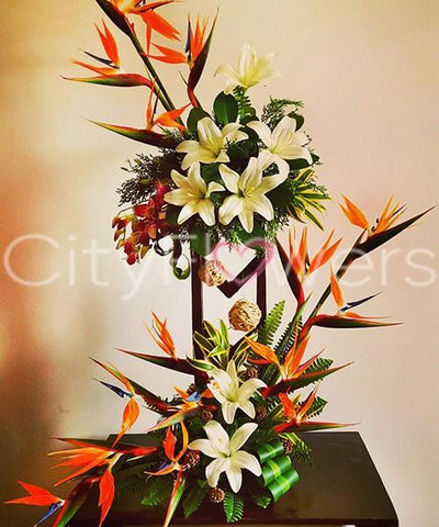 LOVE TWIST flowers CityFlowersIndia