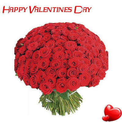 From my Heart _ 200 Premium Red Rose flowers CityFlowersIndia