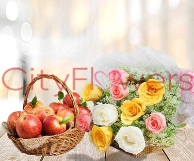 HEALTHFUL WISHES flowers CityFlowersIndia