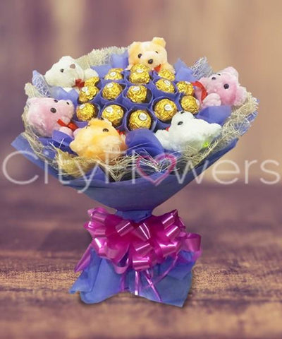 CITYFLOWERS SWEET SURPRISE flowers CityFlowersIndia
