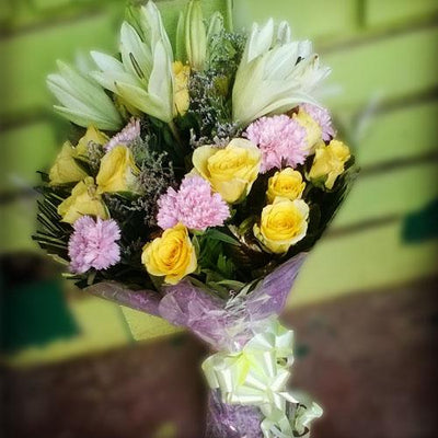 Spring Forward Bouquet flowers CityFlowersIndia