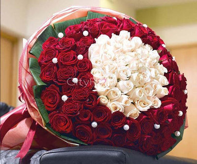 EXPRESSION OF LOVE flowers CityFlowersIndia