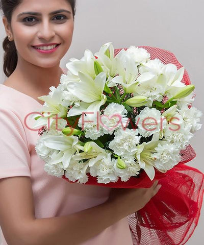 CHARMING BOUQUET BY CITY FLOWERS flowers CityFlowersIndia