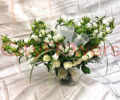 DEFINING PURITY flowers CityFlowersIndia