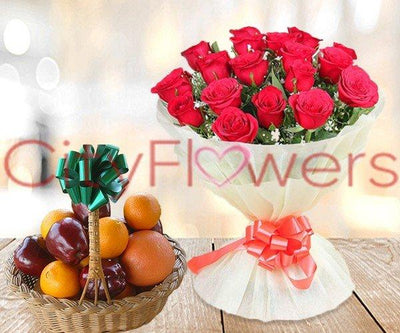 A HEALTHY GET TOGETHER flowers CityFlowersIndia