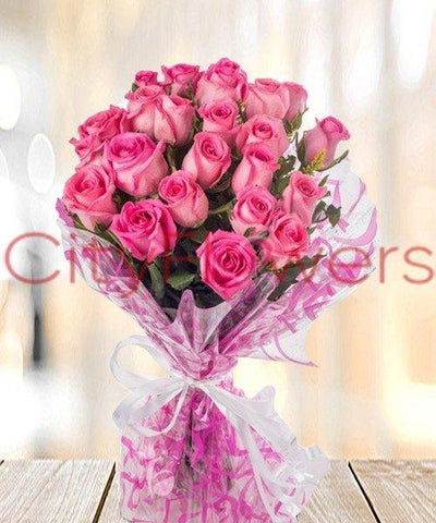 PINK WEATHER flowers CityFlowersIndia