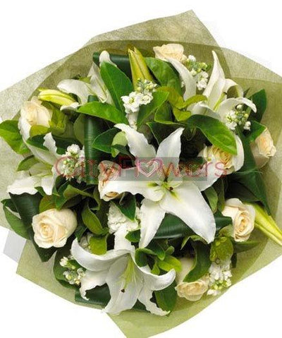 FAITHFUL BLESSINGS BOUQUET flowers CityFlowersIndia