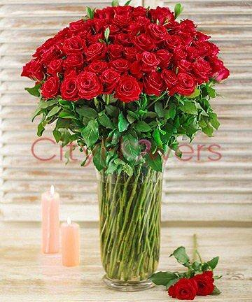 ELEGANT ROSE WISHES flowers CityFlowersIndia