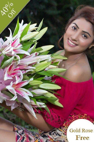 Pink Radiance By City Flowers flowers CityFlowersIndia