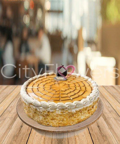 DELICIOUS BUTTERSCOTCH CAKE flowers CityFlowersIndia