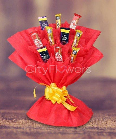 ITS YOUR DAY BOUQUET flowers CityFlowersIndia