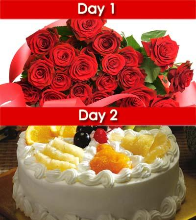 2 Days Surprise (4) flowers CityFlowersIndia